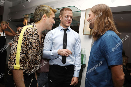 Tyler Glenn, Dan Reynolds and James Valentine