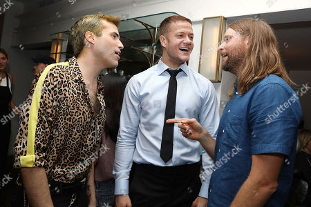 Stock Picture of Tyler Glenn, Dan Reynolds and James Valentine