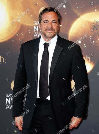 US actor Thorsten Kaye poses on the red carpet while arriving for the closing ceremony of the 58th Monte Carlo Television Festival in Monaco, 19 June 2018. The event will take place from 15 to 19 June.