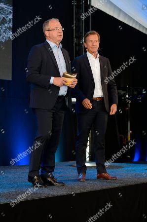 Martin Lundstedt, President of AB Volvo,, Hakan Samuelsson, President & CEO, Volvo Car group