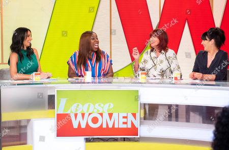 Christine Lampard, Chizzy Akudolu, Janet Street-Porter and Anna Richardson