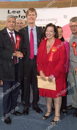 Labour Party Shadow Home Secretary Lyn Brown Pictured After Holding Her West Ham Parliamentary Seat With A Majority Of 36 754 She Is Pictured Here With Fellow Re-elected Labour Mp Stephen Timms Who Won A Majority Of 39 883  9617