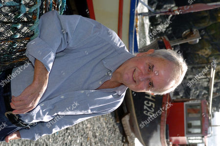 Actor Rodney Bewes In The Cornish Village Of Cadgwith Cove For A Travel Feature. Also Views Of The Village And Beach. .
