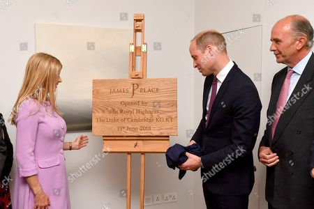 Editorial picture of Prince William visit to Liverpool, UK - 19 Jun 2018