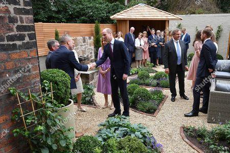 Editorial image of Prince William visit to Liverpool, UK - 19 Jun 2018
