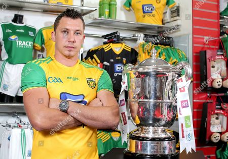 Stock Image of Donegal's Paul Brennan