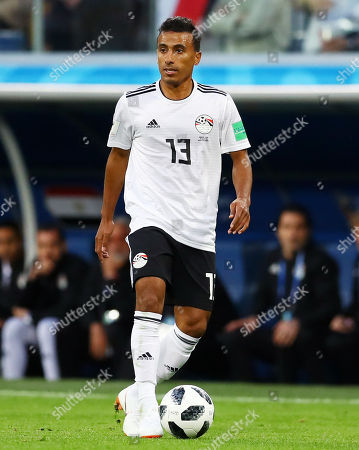 Stock Picture of Mohamed Abdel-Shafy of Egypt.