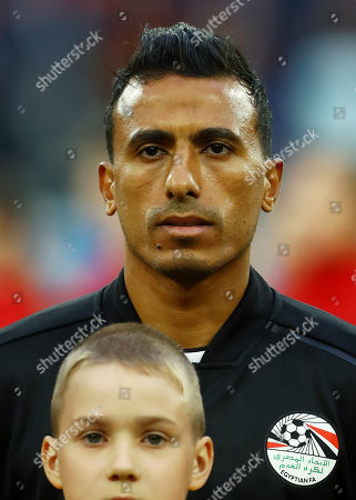 Stock Photo of Mohamed Abdel-Shafy of Egypt.