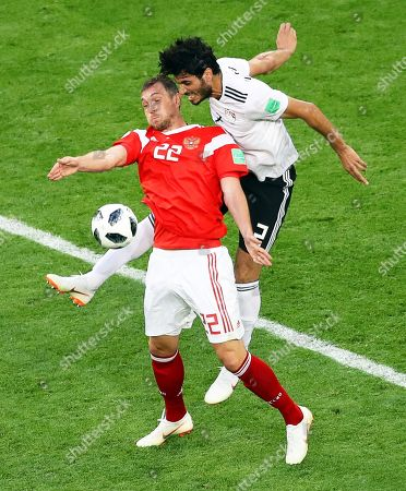 Editorial picture of Group A Russia vs Egypt, St.Petersburg, Russian Federation - 19 Jun 2018