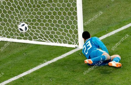 Goalkeeper Mohamed El Shenawy of Egypt