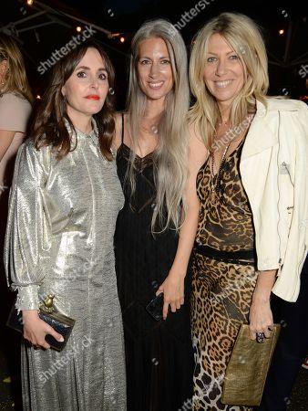 Tania Fares, Sarah Harris with Diane Kordas