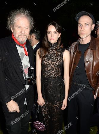 Mike Figgis, Stacy Martin (middle) with guests
