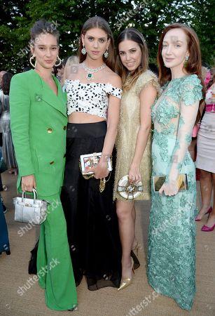 Renee Stewart, Sabrina Percy, Amber Le Bon and Olivia Grant
