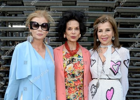 Elena Ochoa Foster, Bianca Jagger and Princess Firyal of Jordan