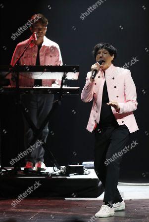 Editorial photo of Sparks in concert at Cirkus, Stockholm, Sweden - 16 Jun 2018