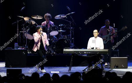 Editorial picture of Sparks in concert at Cirkus, Stockholm, Sweden - 16 Jun 2018