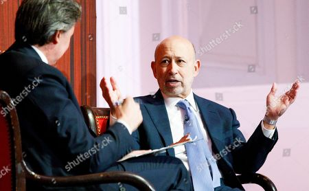 Lloyd Blankfein and John Micklethwait