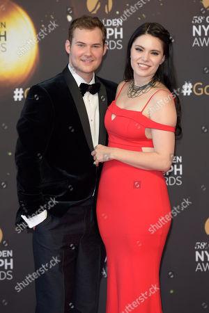 Justin Prentice and Annika Pampel