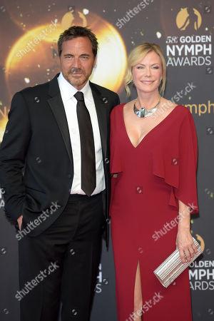 Stock Image of Katherine Kelly Lang and Thorsten Kaye