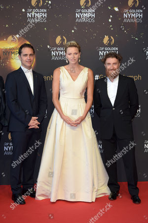 Princess Charlene, Pedro Alonso and Thierry Fremont