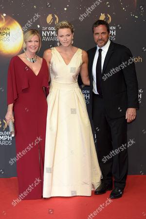 Princess Charlene, Katherine Kelly Lang and Thorsten Kaye