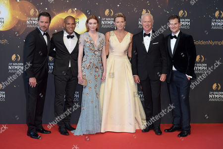 Princess Charlene, Eleanor Tomlinson, Neal McDonough, Justin Prentice, Charles Easten and Amaury Nolasco