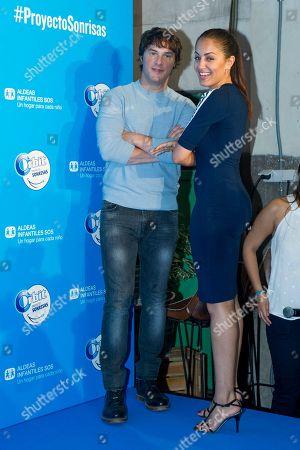 Spanish chef Jordi Cruz and Spanish actress Hiba Abouk