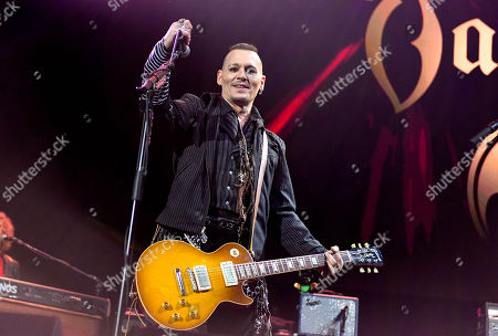 Editorial image of The Hollywood Vampires in concert at the SSE Hydro, Glasgow, Scotland - 19 Jun 2018