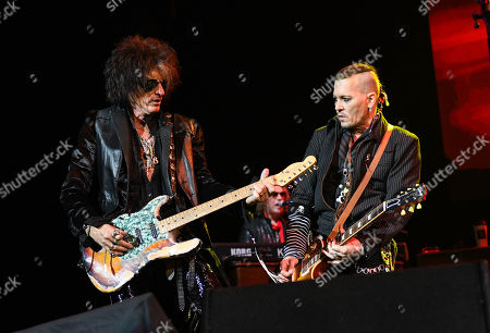Editorial picture of The Hollywood Vampires in concert at the SSE Hydro, Glasgow, Scotland - 19 Jun 2018