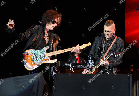Stock Photo of Joe Perry and Johnny Depp