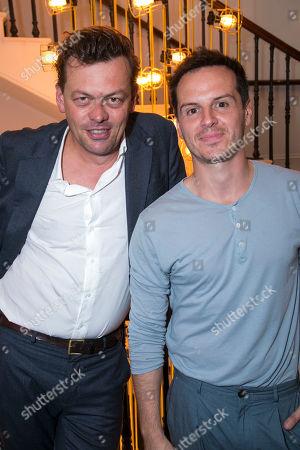 Simon Stephens (Author) and Andrew Scott (Alex)