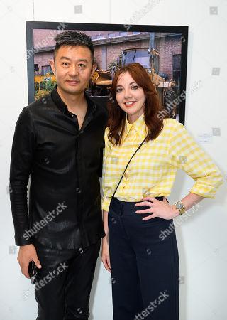 Liu Bolin artist and Diane Morgan actress, comedian and writer