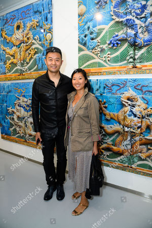 Beatrix Ong, Luxury fashion accessories designer with Liu Bolin artist