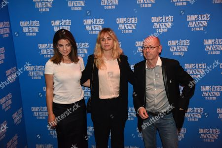 Esther Garrel, Katell Quillevere and Christophe Taudiere