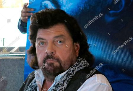 The British musician, producer and sound engineer Alan Parsons pauses during a press conference promoting his symphonic show, in Mexico City, . Parsons will perform on June 20 with a 90 man orchestra and his band at the National Auditorium