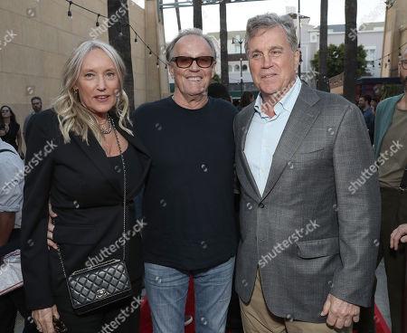 Parky DeVogelaere, Peter Fonda and Sony Classics Co President Tom Bernard