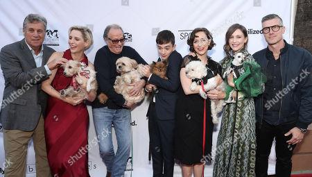 Sony Classics Co President Tom Bernard, Writer/director Shana Feste, actors Peter Fonda, Lewis MacDougall, Kristen Schaal, and Vera Farmiga