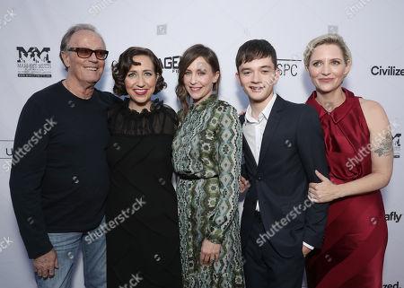 Peter Fonda, Kristen Schaal, Vera Farmiga, Lewis MacDougall and writer/director Shana Feste