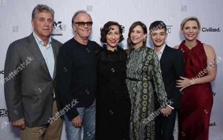 Sony Classics Co President Tom Bernard, Peter Fonda, Kristen Schaal, Vera Farmiga, Lewis MacDougall and writer/director Shana Feste