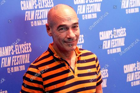 Stock Picture of Actor Jean-Marc Barr poses during a photocall as part of the Champs Elysees Film Festival, in Paris
