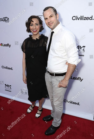 Stock Picture of Kristen Schaal and Rich Blomquist