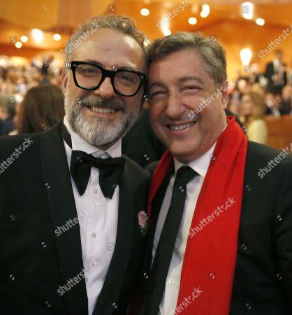Massimo Bottura and Massimo Bottura