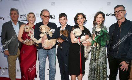 Stock Image of Peter Fonda, Kristen Schaal, Vera Farmiga, Lewis MacDougall, Shana Feste