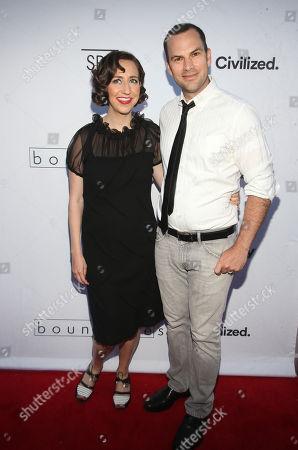 Kristen Schaal and Rich Blomquist