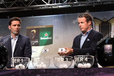 Austin Healey during the draw