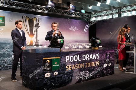 Editorial picture of 2018-2019 EPCR European Rugby Heineken Champions Cup & European Rugby Challenge Cup Pool Draws, Olympic Museum, Lausanne, Switzerland  - 20 Jun 2018