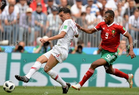 Editorial image of Group B Portugal vs Morocco, Moscow, Russian Federation - 20 Jun 2018