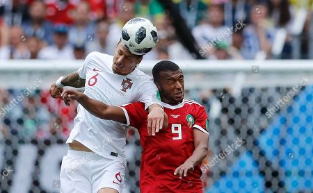 Editorial picture of Russia Soccer WCup Portugal Morocco, Moscow, Russian Federation - 20 Jun 2018