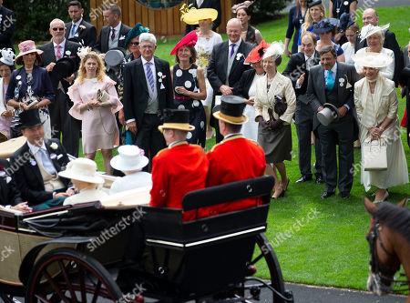 Princess Michael of Kent and Princess Anne
