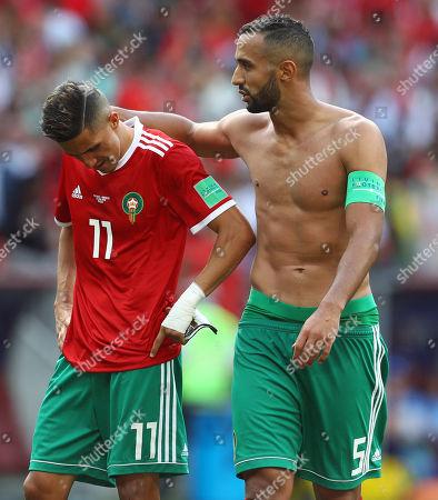 Editorial image of Portugal v Morocco, Group B, 2018 FIFA World Cup football match, Luzhniki Stadium, Moscow, Russia - 20 Jun 2018
